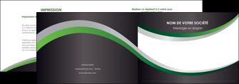 modele depliant 2 volets  4 pages  texture contexture structure MIF51674
