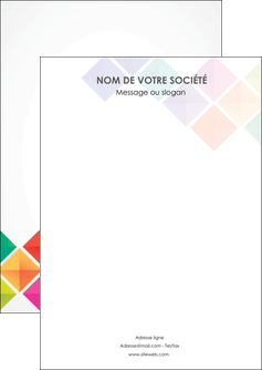 faire flyers arc en ciel cube colore MLGI51700