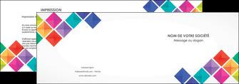 imprimer depliant 2 volets  4 pages  arc en ciel cube colore MLIG51714