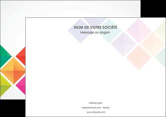 modele en ligne affiche arc en ciel cube colore MLGI51718