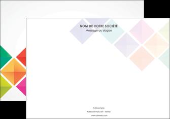 modele en ligne affiche arc en ciel cube colore MLGI51720