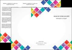 Commander Plaquette entreprise  modèle graphique pour devis d'imprimeur Dépliant 6 pages pli accordéon DL - Portrait (10x21cm lorsque fermé)