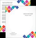 creer modele en ligne depliant 2 volets  4 pages  arc en ciel cube colore MLGI51726