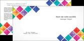 exemple depliant 2 volets  4 pages  arc en ciel cube colore MLGI51728