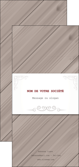 Impression confection prospectus  papier à prix discount et format Flyer DL - Portrait (21 x 10 cm)