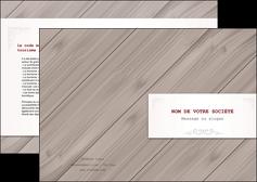 realiser depliant 2 volets  4 pages  texture contexture structure MIF52564