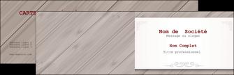 Impression carte visite pelliculage mat  Carte commerciale de fidélité papier à prix discount et format Carte de visite Double - Paysage