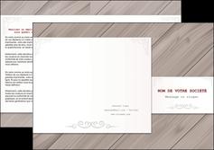 imprimerie depliant 3 volets  6 pages  texture contexture structure MIF52584
