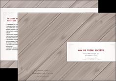 impression depliant 2 volets  4 pages  texture contexture structure MIF52598