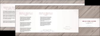 creer modele en ligne depliant 4 volets  8 pages  texture contexture structure MIF52602