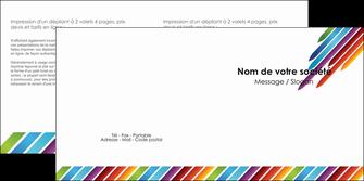 imprimer depliant 2 volets  4 pages  texture contexture fond MIF52762