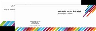 Commander impression carte 9x5 5 cm pelliculage mat  Carte commerciale de fidélité papier publicitaire et imprimerie Carte de visite Double - Paysage