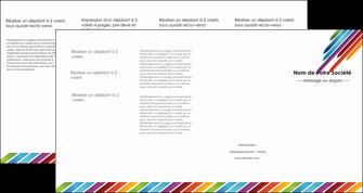 faire depliant 4 volets  8 pages  texture contexture fond MIF52790