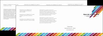 exemple depliant 4 volets  8 pages  texture contexture fond MLIG52792