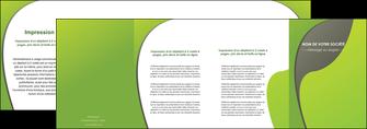 imprimerie depliant 4 volets  8 pages  texture contexture structure MLGI52924