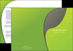impression depliant 2 volets  4 pages  texture contexture structure MLGI52926