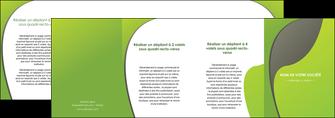 personnaliser modele de depliant 4 volets  8 pages  texture contexture structure MLGI52970