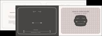 maquette en ligne a personnaliser depliant 2 volets  4 pages  texture contexture fond MLGI53000