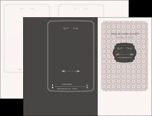 personnaliser maquette pochette a rabat texture contexture fond MLGI53006