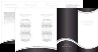 faire depliant 4 volets  8 pages  texture contexture design MIF53294