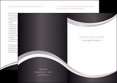 imprimer depliant 2 volets  4 pages  texture contexture design MIF53300
