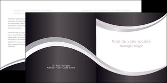 faire modele a imprimer depliant 2 volets  4 pages  texture contexture design MIF53308