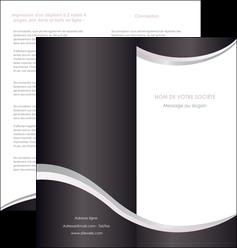 imprimer depliant 2 volets  4 pages  texture contexture design MIF53310