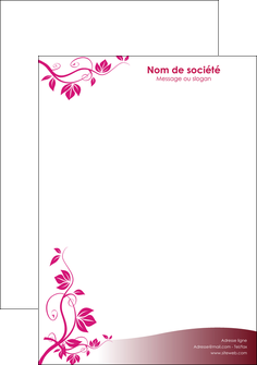 Papier en t te de lettre personnalis impression for Devis jardinage exemple