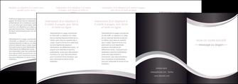 creer modele en ligne depliant 4 volets  8 pages  texture contexture design MIF53342