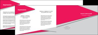 personnaliser maquette depliant 4 volets  8 pages  texture contexture structure MLIG53406