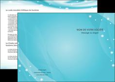 realiser depliant 2 volets  4 pages  texture contexture structure MLIG53564