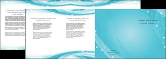 maquette en ligne a personnaliser depliant 4 volets  8 pages  texture contexture structure MLIG53602
