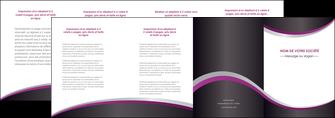 faire depliant 4 volets  8 pages  texture contexture structure MIF53610