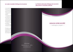 personnaliser maquette depliant 2 volets  4 pages  texture contexture structure MIF53618