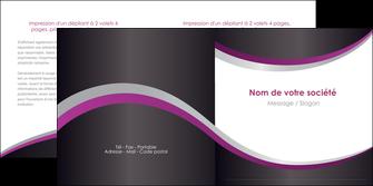 personnaliser modele de depliant 2 volets  4 pages  texture contexture structure MLGI53626