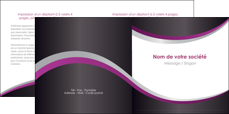 personnaliser modele de depliant 2 volets  4 pages  texture contexture structure MIF53626