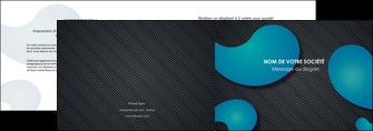 maquette en ligne a personnaliser depliant 2 volets  4 pages  texture contexture structure MIF53680