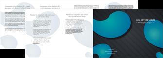 creer modele en ligne depliant 4 volets  8 pages  texture contexture structure MLIG53706