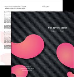 maquette en ligne a personnaliser depliant 2 volets  4 pages  texture contexture structure MIF53746
