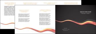 personnaliser modele de depliant 4 volets  8 pages  texture contexture structure MLGI53812