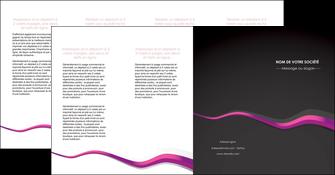 creation graphique en ligne depliant 4 volets  8 pages  texture contexture structure MIF53878