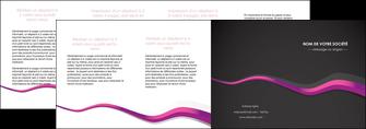 maquette en ligne a personnaliser depliant 4 volets  8 pages  texture contexture structure MIF53880