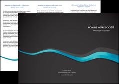modele depliant 3 volets  6 pages  texture contexture structure MLIG53908