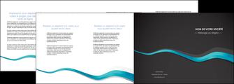 modele en ligne depliant 4 volets  8 pages  texture contexture structure MLIG53926