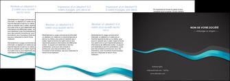 creer modele en ligne depliant 4 volets  8 pages  texture contexture structure MLGI53932