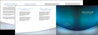 imprimerie depliant 4 volets  8 pages  texture contexture structure MLGI54406