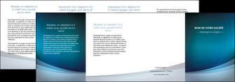 cree depliant 4 volets  8 pages  texture contexture structure MLGI54412