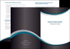 modele en ligne depliant 2 volets  4 pages  texture contexture structure MLGI54420