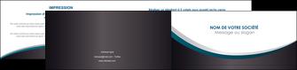 impression depliant 2 volets  4 pages  texture contexture structure MIF54424