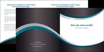 cree depliant 2 volets  4 pages  texture contexture structure MIF54430